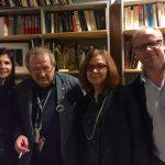 Avec Adam Michnik à Gazeta Wyborcza