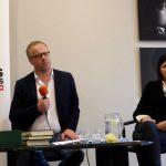 Conférence de presse : Christophe Doloire et Pauline Adès-Mével